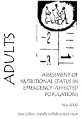 Adults: Assessment of Nutritional Status in Emergency-Affected Populations