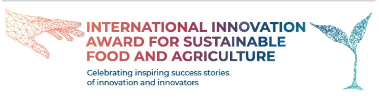 international innovation award for sustainable food and agriculture
