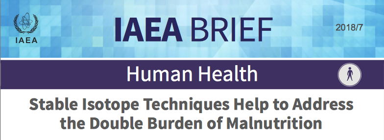 Iaea Brief Stable Isotope Techniques Help To Address The Double